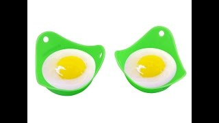 GAINWELL Silicone Egg Poacher Review - Silicone Egg Cookers, Boiler Instructions