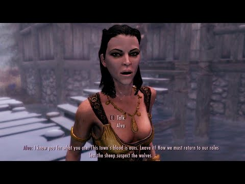 Alva&39;s special quote for vampire character. Skyrim Special Edition