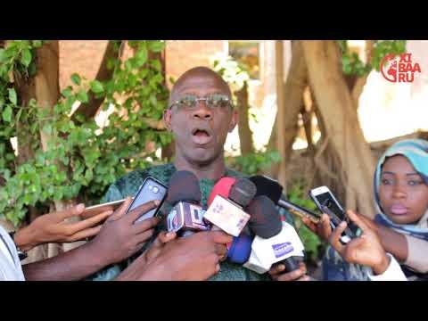 """Me Adama Guèye """" Y'a une nouvelle dynamique qui est déclenché avec le nouveau..."""""""