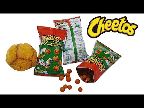 DIY Miniature ✫ Bags Chips Cheetos ✫ Tutorial | Crafts thumbnail