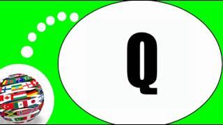 Французского видео урок = Выучить алфавит со мной