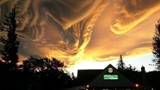Undulatus Asperatus cloud - асператус самые необычные облака
