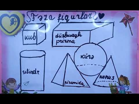 19. Fəza fiqurları (Prizma, Piramida, Tetraedr) - Elçin Tanrıverdiyev