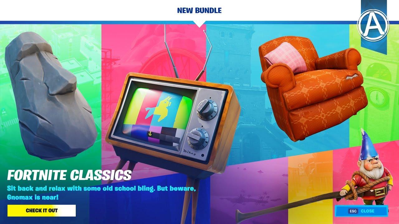 Fortnite Item Shop *NEW* Fortnite CLASSICS BUNDLE! (July 21st, 2020)