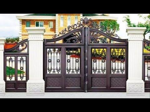 Modern Front Gate Design