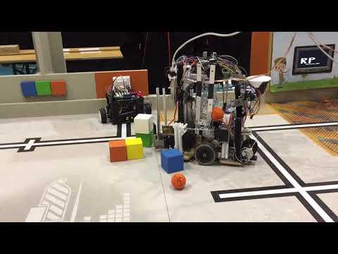 RobotPotes - Eurobot junior 2017-2018 - démo