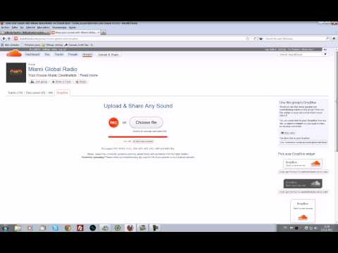 tutorial subir sesiones temas soundcloud group.avi
