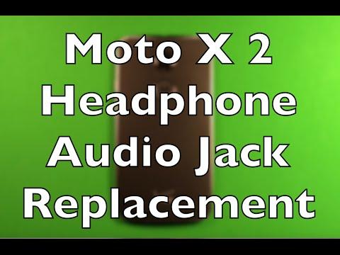 Moto X (2nd Gen) Headphone Audio Jack Replacement How To Change
