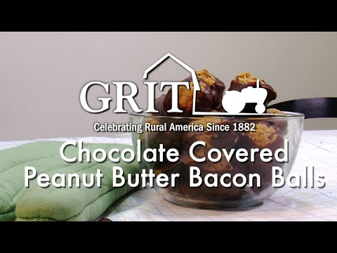 Chocolate-Covered Peanut Butter Bacon Balls Recipe - GRIT MAGAZINE