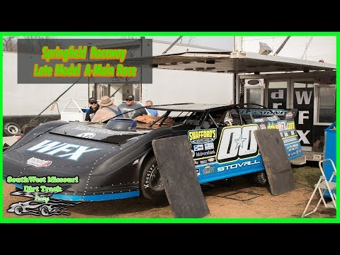Late Models A - Feature Race - Springfield Raceway 3-10-2018 v2