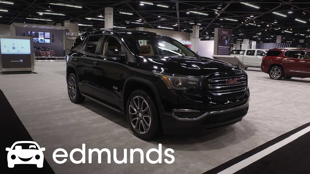 2018 Gmc Acadia Features Rundown Edmunds
