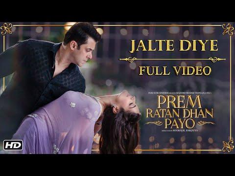 Jalte Diye Full Song | Prem Ratan Dhan...