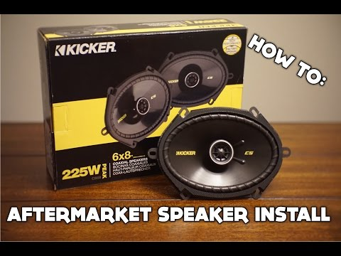 How To Install Aftermarket Speakers On ANY Car!