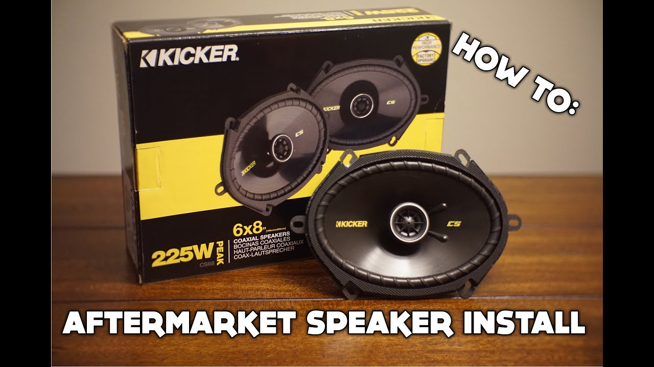 how to install aftermarket speakers on any car youtube. Black Bedroom Furniture Sets. Home Design Ideas