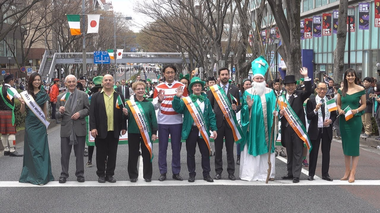 2018 St. Patrick\u0027s Day Parade Omotesando, Tokyo(セント・パトリックス・デイ・パレード東京)