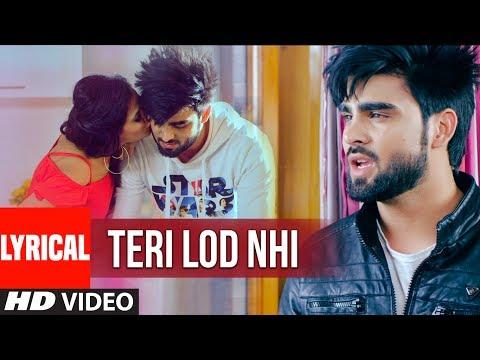 INDER CHAHAL: Teri Lod Nahi (Lyrical Video) GOLD BOY | Punjabi Song 2017