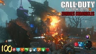 ORIGINS REMASTERED ROUND 100 HIGH ROUND ATTEMPT!! - BLACK OPS 3 ZOMBIE CHRONICLES DLC 5 GAMEPLAY!