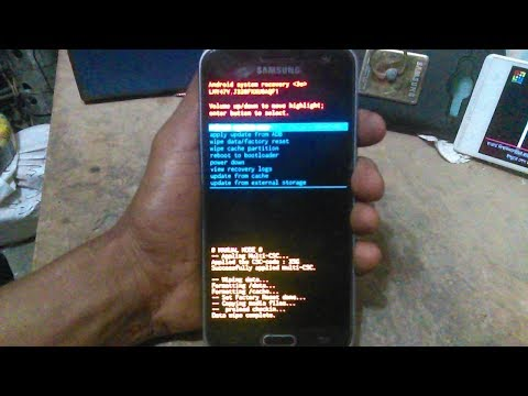 Samsung Galaxy J3 Hard Reset And Software Update Compliment Video.