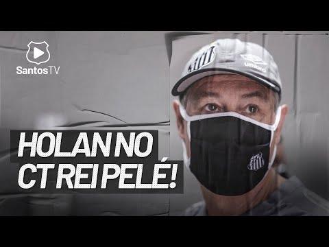 ARIEL HOLAN NO CT REI PELÉ PELA PRIMEIRA VEZ!