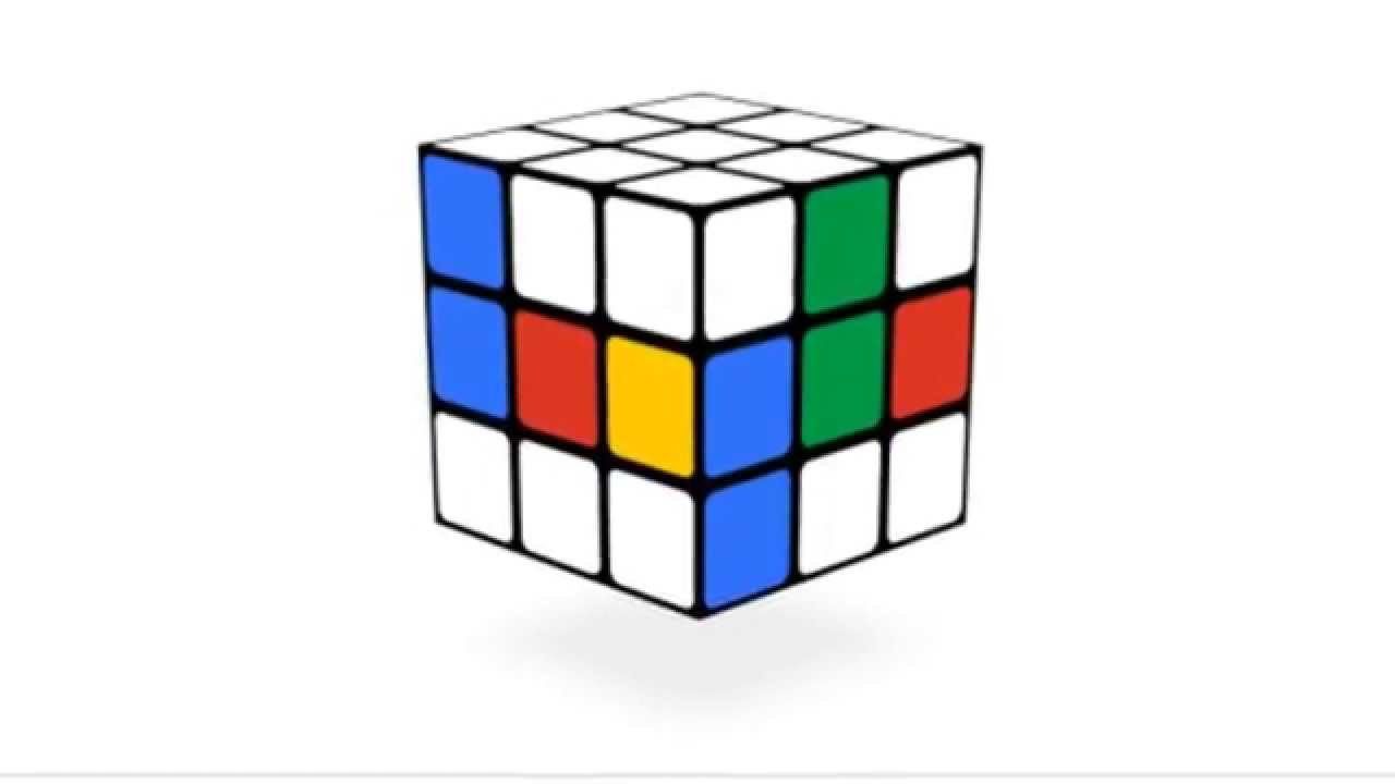 rubik's cube google doodle interactive [hd] - youtube