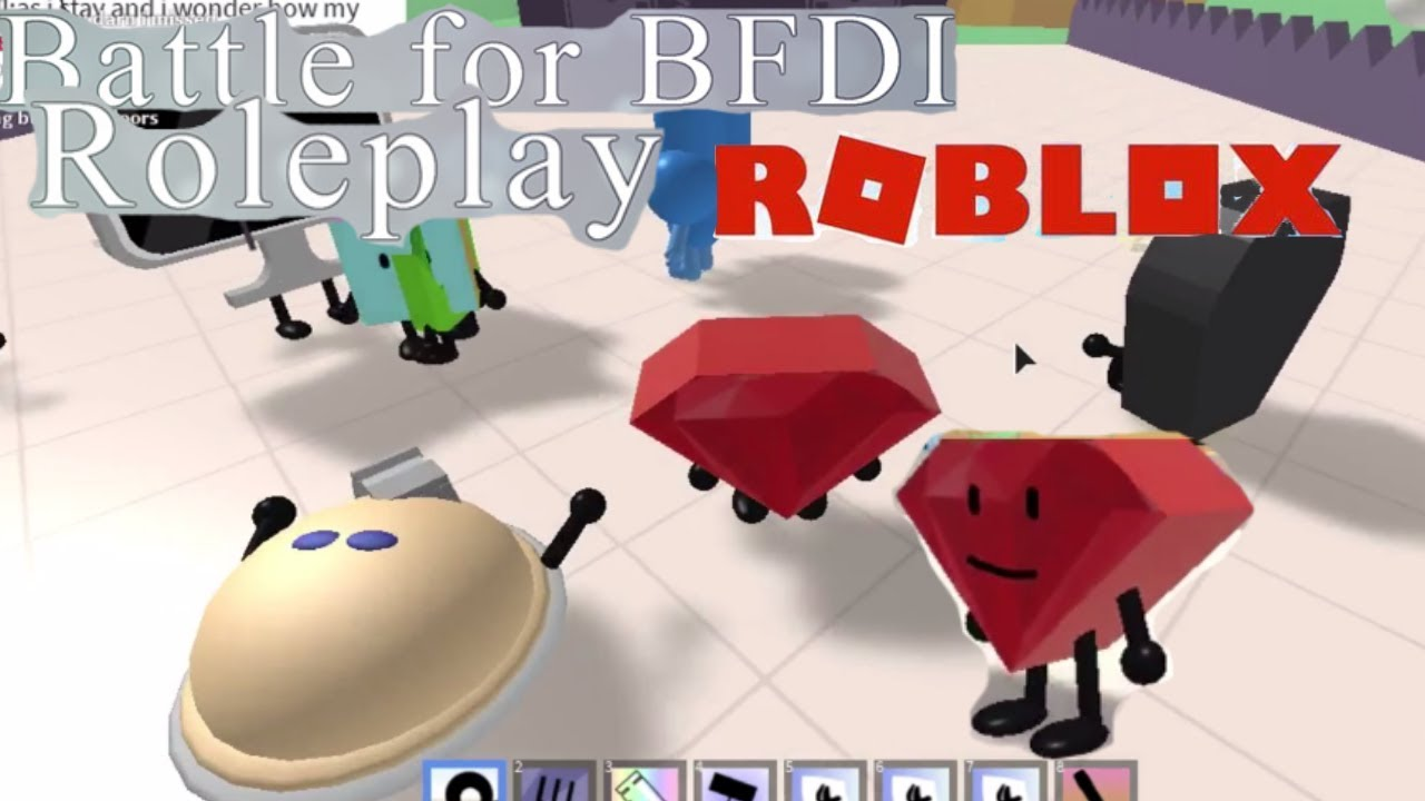 Bfb In Roblox Battle For Bfdi Roleplay Roblox Youtube Ruby And The Rest Of The Gang In Battle For Bfdi Roleplay Roblox Game Part 2 Youtube