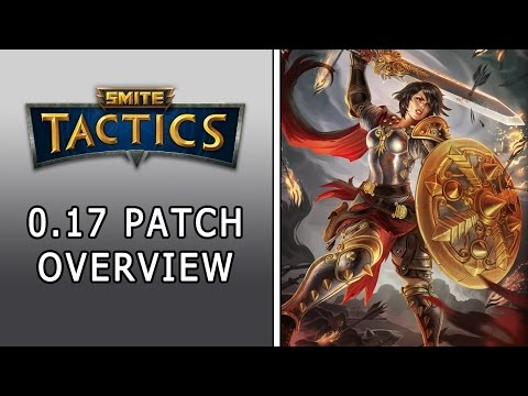 Smite: Tactics | 0.17 Patch Overview | Roman Pantheon