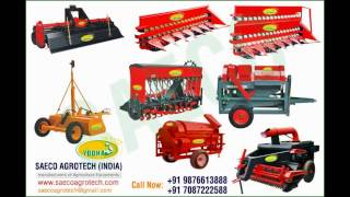 Agriculture machinery manufacturers in india www.saecoagrotech.com