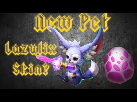 New Pet Pew Pew Long Ear Mouse/rabbit And New Lazulix Skin? Pokemon Comes To Castle Clash!