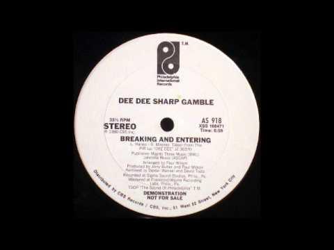 DEE DEE SHARP GAMBLE - Breaking And Entering (12'' Version) [HQ]