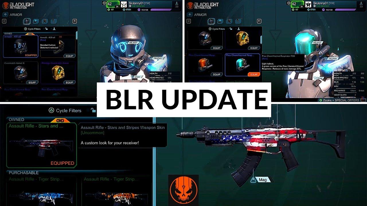 Download BLACKLIGHT RETRIBUTION - NEW STUFF!! (Helmets + Camo) |  PS4