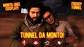 Tunnel Da Monto! Monto/Jake Cosplay! - Survivor Gameplay - Dead By Daylight