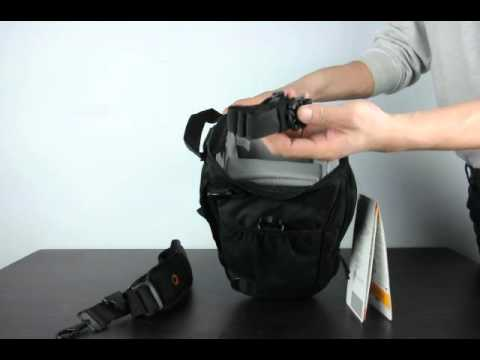 fac64149b81 Lowepro Toploader Pro 75 AW Shoulder Bag ,unboxing and reviewing ...