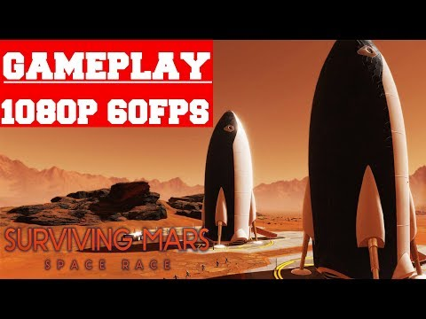 Surviving Mars Space Race Gameplay (PC) |