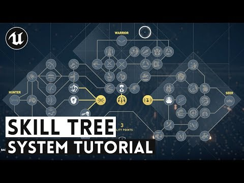 How To Create A Skill Tree System | UE4 Tutorial
