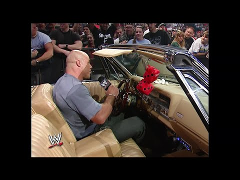 Kurt Angle fails to steal Eddie Guerreros car: SmackDown, July 29, 2004