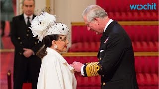 Joan Collins, 81, Becomes a Dame and Rocks Regal Look at Palace, Celebrates With Family and Deliciou