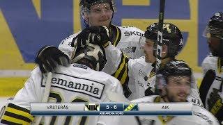 Highlights: Västerås - AIK | ABB Arena