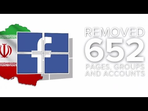 Facebook removes fake content tied to Russia and Iran
