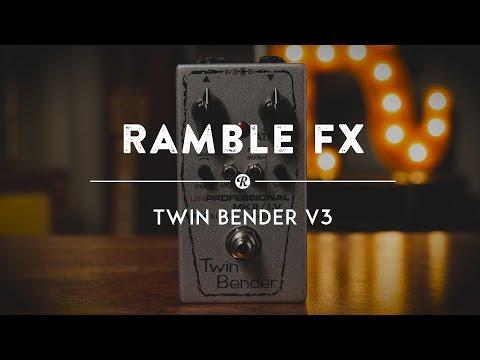 Ramble FX Twin Bender Fuzz V3 | Reverb Demo Video