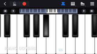 Tere jaisa yaar kahan | simple piano tutorial | mobile piano | easy to learn.