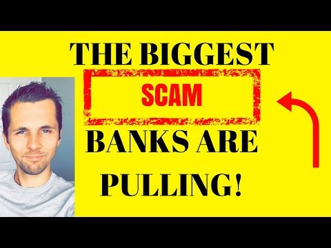 Why Banks Are The Biggest Scam - Is Bitcoin The Answer?