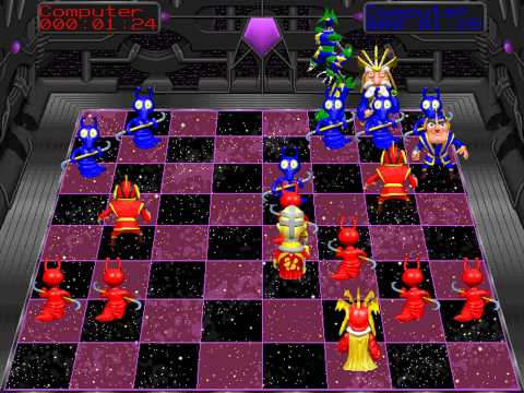 Battle Chess 4000 (Interplay) (MS-DOS) [1992]