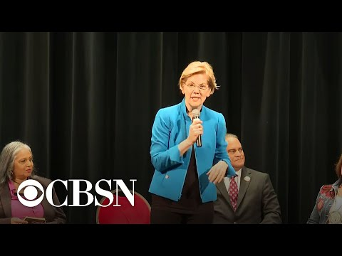 Elizabeth Warren gaining momentum in 2020 Democratic presidential race