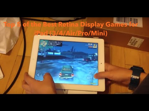 Top 5 of the Best Retina Display Games for iPad Air
