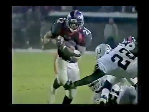 Olandis Gary game winner vs Oakland Raiders 1999