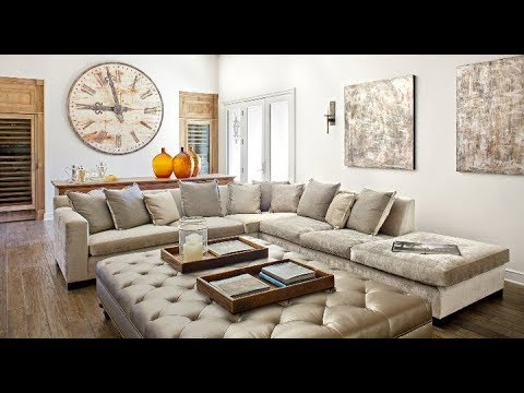 Grey Velvet Sectional Sofa