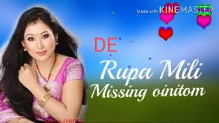 Singer    Rupa  Mili  Mising  oinitom