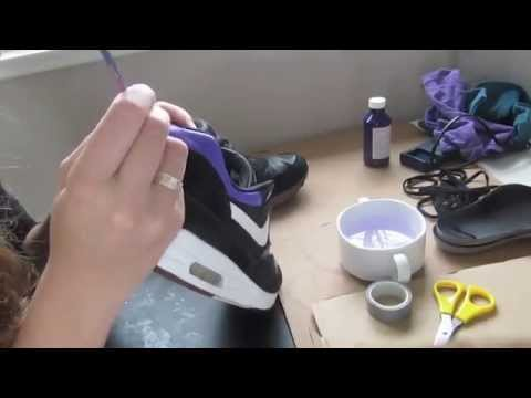 9969603b8d21 ... netherlands how to custom nike air max 1 sb sneakers by babette broeren  timelapse angelus leather