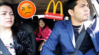 TAKING MY WIFE TO AN EXPENSIVE/FANCY RESTAURANT PRANK! 🍟🍔