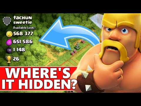 Clash Of Clans | WHERE'S THE LOOT HIDDEN!?! SO MUCH LOOT!! CoC Dark Farming!